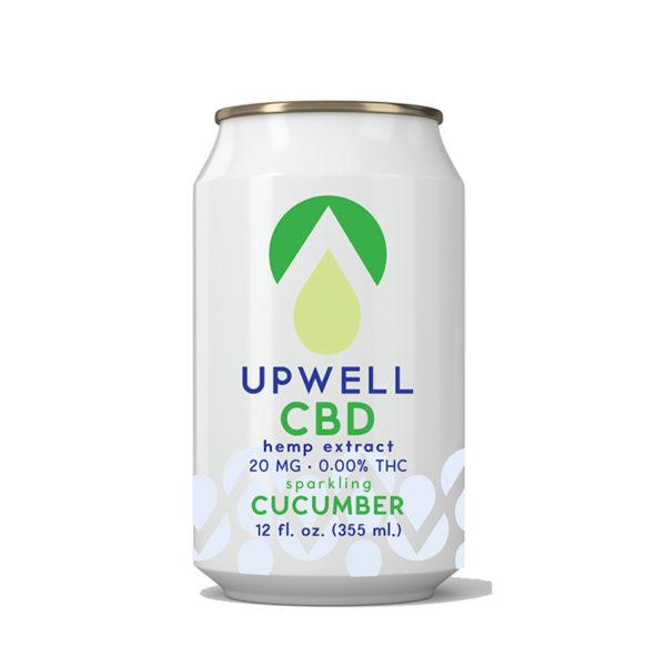 upwell beverages cucumber cbd water